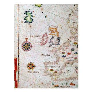The British Isles, Iberia and Northwest Africa Postcard