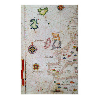 The British Isles, Iberia and Northwest Africa Poster
