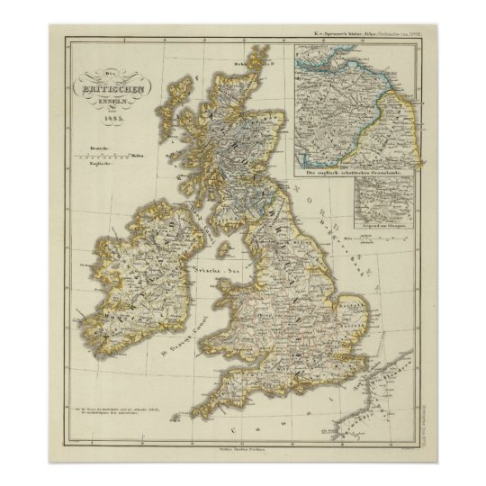 The British Isles since 1485 Poster