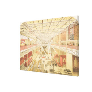 The British Machinery Department, Class 5 of the G Canvas Print