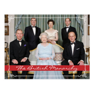 The British Monarchy Post Cards