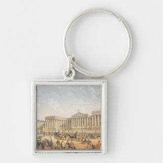 The British Museum, c.1862 (colour litho) Key Chains