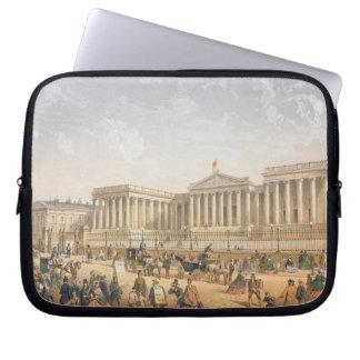 The British Museum, c.1862 (colour litho) Laptop Sleeve