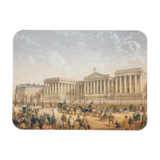 The British Museum, c.1862 (colour litho) Magnet
