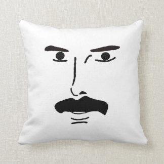 The British mustache pillow