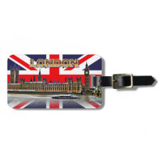 The British Parliament Luggage Tag
