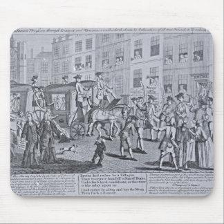 The British Patriots Procession through Mouse Pad
