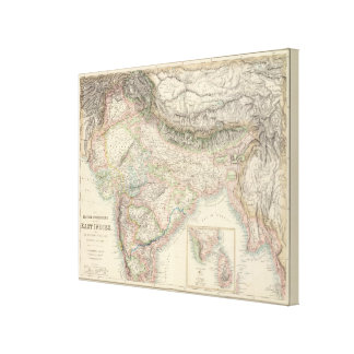 The British Possessions in the East Indies Stretched Canvas Prints