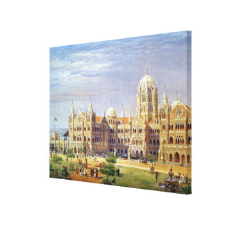 The British Raj Great Indian Peninsular Terminus Canvas Print