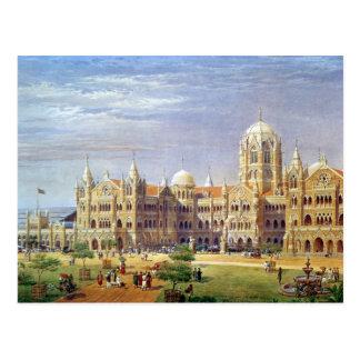 The British Raj Great Indian Peninsular Terminus Postcard