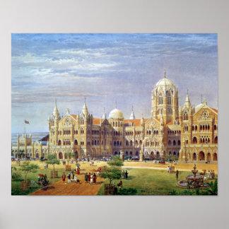 The British Raj Great Indian Peninsular Terminus Poster