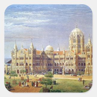 The British Raj Great Indian Peninsular Terminus Square Sticker