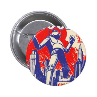 The British Robots Are coming! Pins