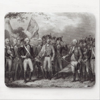 The British Surrendering their Arms Mouse Pad