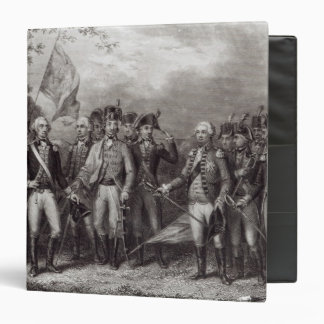 The British Surrendering their Arms Vinyl Binders