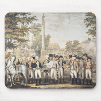 The British Surrendering to General Washington Mouse Pad