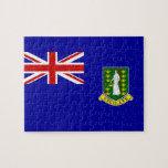 The British Virgin Islands Flag Jigsaw Puzzles