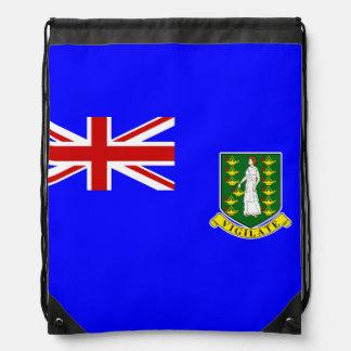 The British Virgin Islands Flag Drawstring Backpack