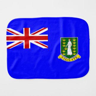 The British Virgin Islands Flag Burp Cloth