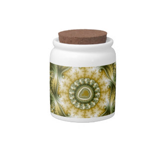 The Broccolator - Fractal Art Candy Dish