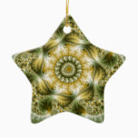The Broccolator - Fractal Art Ceramic Ornament
