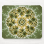The Broccolator - Fractal Art Mouse Pad