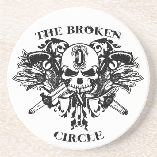 The Broken Circle Coaster - White