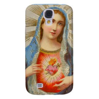 The broken heart of the Virgin Mary iPhone case Galaxy S4 Case