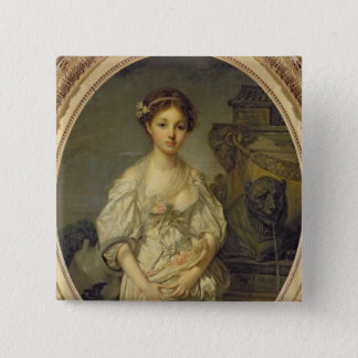The Broken Pitcher, c.1772-73 Pinback Button