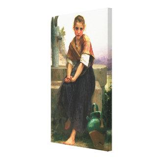 The Broken Pitcher (La Cruche Cassee) 1891 Canvas Print