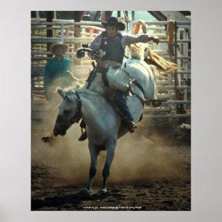 The Bronc Rider Print