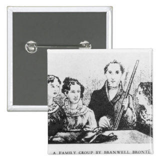 The Bronte Family Pins