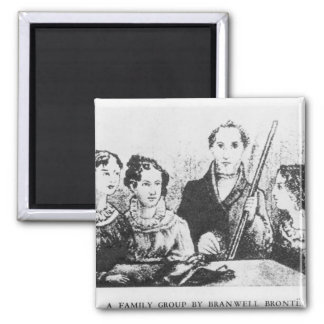 The Bronte Family Magnet