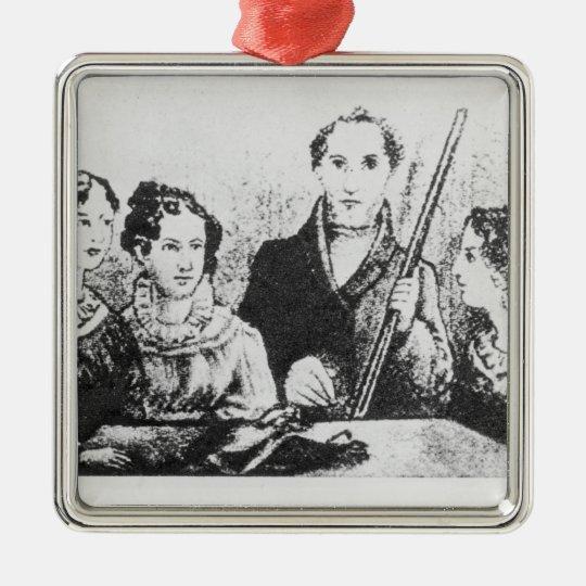 The Bronte Family Metal Ornament