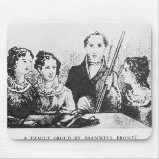 The Bronte Family Mouse Pad