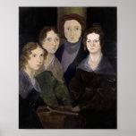 The Bronte Family Pillar Portrait Restoration Print