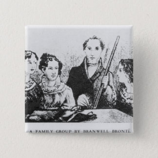 The Bronte Family Pinback Button