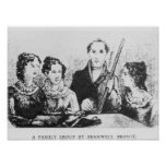 The Bronte Family Print
