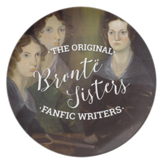 The Bronte Sisters - The Original Fanfic Writers Plate