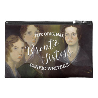 The Bronte Sisters - The Original Fanfic Writers Travel Accessory Bag