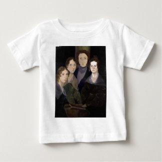 The Brontës ~ Restored Pillar Portrait Baby T-Shirt