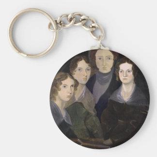 The Brontës ~ Restored Pillar Portrait Basic Round Button Keychain