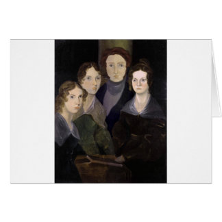 The Brontës ~ Restored Pillar Portrait Card