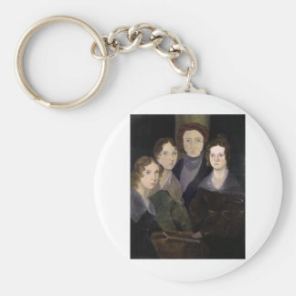 The Brontës ~ Restored Pillar Portrait Keychain
