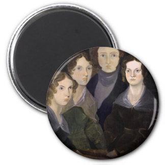 The Brontës ~ Restored Pillar Portrait Magnet