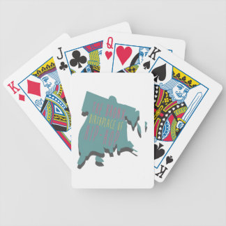 The Bronx Birth Place Bicycle Playing Cards