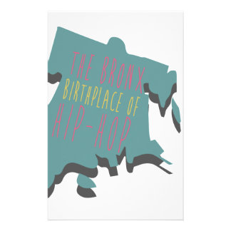 The Bronx Birth Place Stationery
