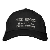 The Bronx Embroidered Baseball Hat