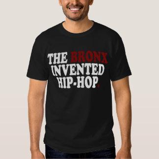 The BRONX Invented Hip-Hop Black T-Shirt