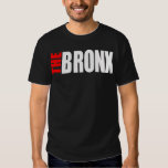 THE BRONX_LOGO_png white&red Shirts